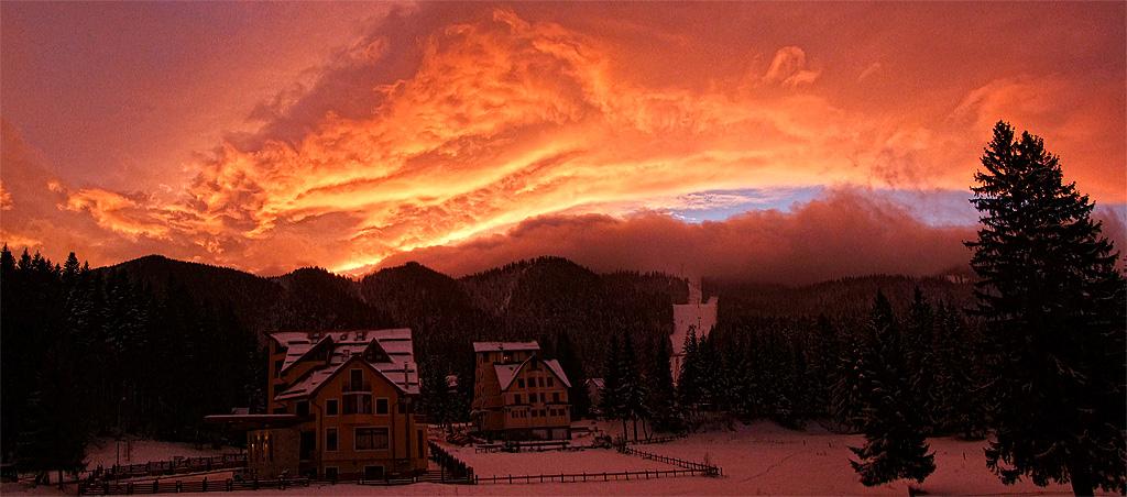 Poiana Brasov, estación de esquí en Rumania.