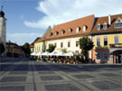 Hotel Am Ring, Sibiu, Rumania, tres estrellas -sup.-.