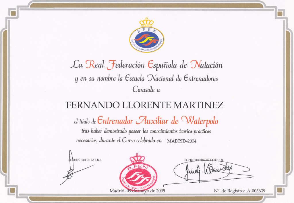 Diploma De Espanol