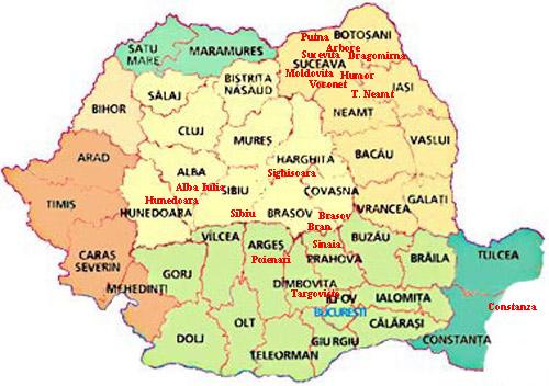 Rumtor Viajes A Rumania Monumentos En Rumania Castillo De